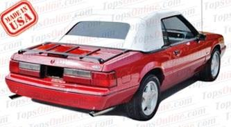 Rubber Weatherstrips (Weather Seals):1991 thru 1993 Ford Mustang (GLX, GT, LX) Convertible