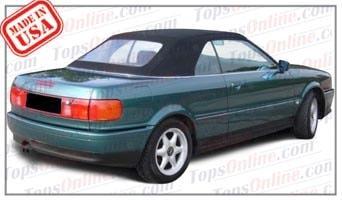 Convertible Tops & Accessories:1992 thru 2000 Audi Cabriolet, Cabrio 80