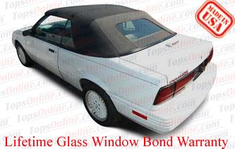 Convertible Tops & Accessories:1993 thru 1995 Chevy Cavalier, Cavalier LS, RS & Z24