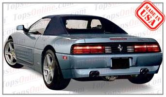 Convertible Tops & Accessories:1993 thru 1995 Ferrari 348 Spider