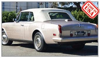 Convertible Tops & Accessories:1993 thru 1995 Rolls Royce Corniche IV & Corniche S