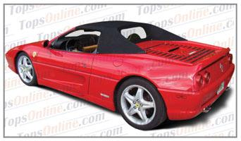 Seat Covers (Factory Style):1993 thru 1999 Ferrari 348, 355 & F355 Convertible Spider