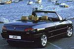 Convertible Tops & Accessories:1994 thru 2004 Peugeot 306