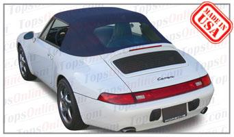 Convertible Tops & Accessories:1995 thru 1998 Porsche 911 - 993 Carrera & Carrera 4 (C4) Cabriolet