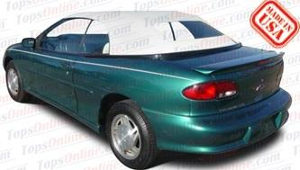 Convertible Top Installation Videos:1995 thru 2000 Chevy Cavalier, Cavalier LS & Cavalier Z24
