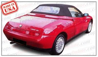 Thru Alfa Romeo Spider Convertible Tops And Accessories - Alfa romeo spider accessories