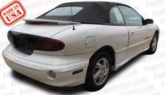 Convertible Tops & Accessories:1998 thru 2000 Pontiac Sunfire & Sunfire GT
