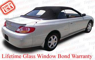 Convertible Tops & Accessories:1998 thru 2003 Toyota Camry Solara SE & SLE
