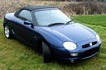 Convertible Tops & Accessories:1998 thru 2004 Rover MG