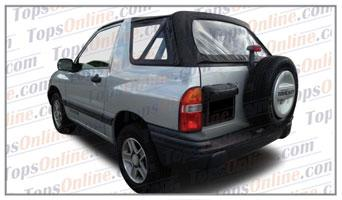 Convertible Tops & Accessories:1999 thru 2004 Geo Tracker