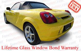 Convertible Tops & Accessories:1999 thru 2007 Toyota MR-2 & MR-S Spyder