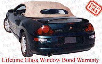 Convertible Tops & Accessories:2000 thru 2005 Mitsubishi Eclipse Spyder, GS, GT & GTS