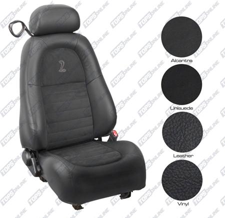 Seat Covers (Factory Style):2001 Ford Mustang Cobra (Convertible and Coupe)
