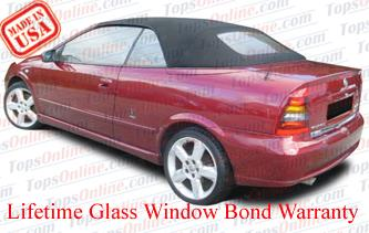 Convertible Tops & Accessories:2001 thru 2005 Vauxhall Astra Convertible Coupe