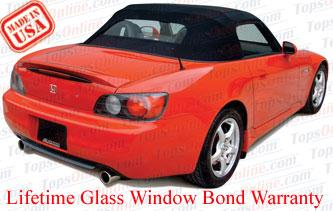 Convertible Tops & Accessories:2002 thru 2009 Honda S2000
