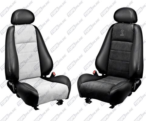 Seat Covers (Factory Style):2003 and 2004 Ford Mustang Cobra (Convertible and Coupe)