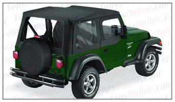 Convertible Tops & Accessories:2003 thru 2006 Jeep Wrangler TJ