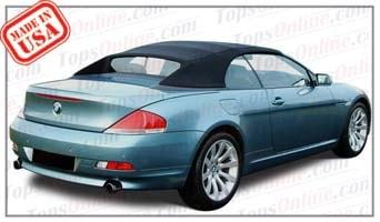 Convertible Tops & Accessories:2004 thru 2010 BMW 630i, 645ci, 650i & M6 (E64)