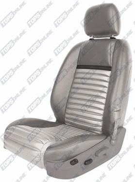 Seat Covers (Factory Style):2005 thru 2007 Ford Mustang Mach 1 (Convertible and Coupe)