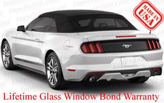 Convertible Tops & Accessories:2015 thru 2018 Ford Mustang (All Convertible Models)