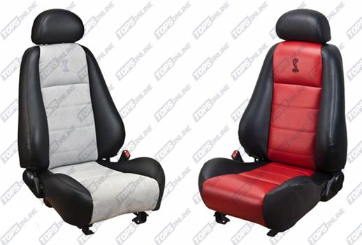 Seat Covers (Factory Style):Ford Mustang Cobra Upgrade Kits for 1994 thru 2004