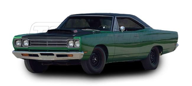 Rubber Weatherstrips (Weather Seals):1968 and 1969 Plymouth Belvedere, Roadrunner & Satellite (B Body) Hardtop & Coupe