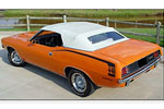 Rubber Weather Seals:1970 thru 1971 Plymouth Barracuda Convertible