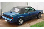 Convertible Tops & Accessories:1983 thru 1985 Pontiac Sunbird