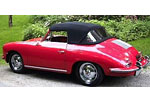 Convertible Tops & Accessories:1960 thru 1962 Porsche 356B Roadster
