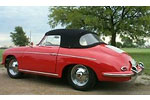 Convertible Tops & Accessories:1962 thru 1965 Porsche 356B & 356C Cabriolet