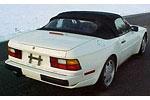 Convertible Tops & Accessories:1989 thru 1995 Porsche 944 S2 & 968 Cabriolet
