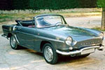Convertible Tops & Accessories:1959 thru 1962 Renault Caravelle