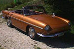 Convertible Tops & Accessories:1962 thru 1964 Renault Caravelle