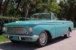 Convertible Tops & Accessories:1961 thru 1963 AMC American Custom, American 400 & American 440