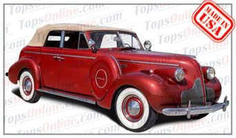 Convertible Tops & Accessories:1937 thru 1938 Buick Special 46C Phaeton 4 Door Convertible