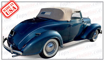 Convertible Tops & Accessories:1939 Plymouth Deluxe Convertible Coupe