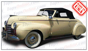 Convertible Tops & Accessories:1940 Oldsmobile 60 2 Door Convertible Coupe