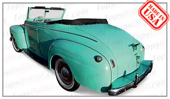 Convertible Tops & Accessories:1940 Plymouth Deluxe Convertible Coupe