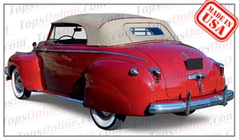 Convertible Tops & Accessories:1941 and 1942 Chrysler Windsor Convertible Club Coupe