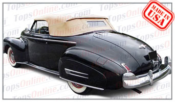 Convertible Tops & Accessories:1941 Buick Roadmaster 76C & Super 56C 2 Door Convertible