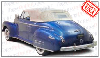 Convertible Tops & Accessories:1941 Buick Special 44C & Series A