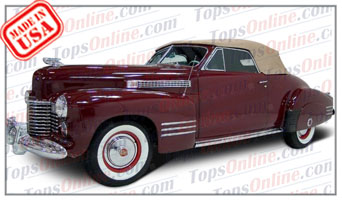 Convertible Tops & Accessories:1941 Cadillac Series 62 2 Door Convertible