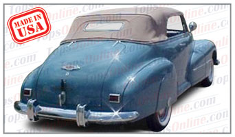 Convertible Tops & Accessories:1942 & 1946 thru 1948 Oldsmobile 66 & 68, Special 66 & 68, Dynamic 68