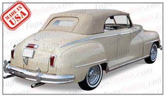 Convertible Tops & Accessories:1946 thru 1948 Desoto Custom