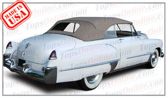 Convertible Tops & Accessories:1948 and 1949 Cadillac Series 62