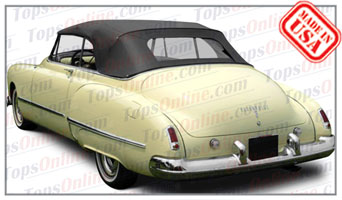 Convertible Tops & Accessories:1948 and 1949 Oldsmobile Futuramic 98