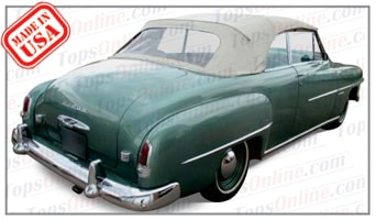 Convertible Tops & Accessories:1949 thru 1952 Dodge Coronet
