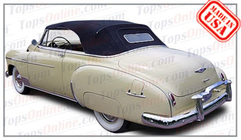 Convertible Tops & Accessories:1949 Chevy Styleline Deluxe