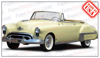 Convertible Tops & Accessories:1949 Oldsmobile Futuramic & Futuramic Deluxe 76, 78, 88