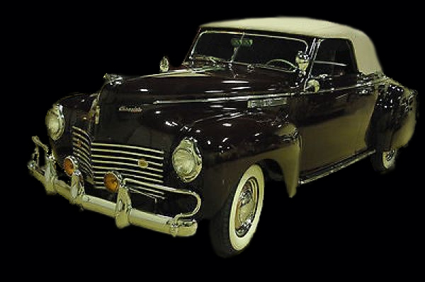 Convertible Tops & Accessories:1940 Chrysler Windsor Convertible Coupe
